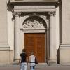 Berliner Türen - Rückwärtiger Eingang des Deutschen Domes