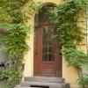 Berliner Türen - Eingangstür auf einem Hof in Charlottenburg