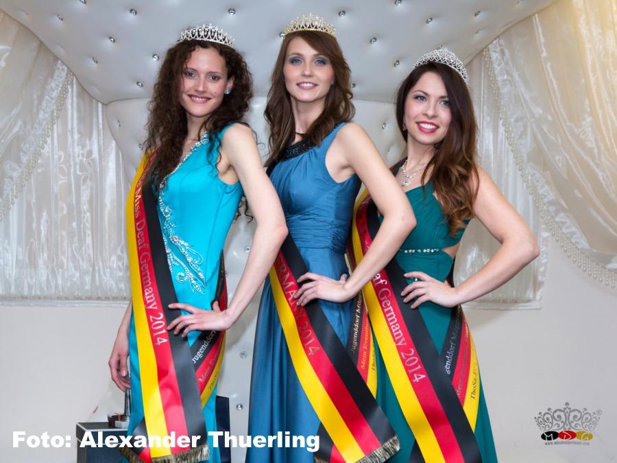 Siegerinnen der Wahl zur Miss Deaf Germany 2014