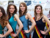 Siegerinnen der Wahl zu Miss Deaf Germany 2014 in Berlin