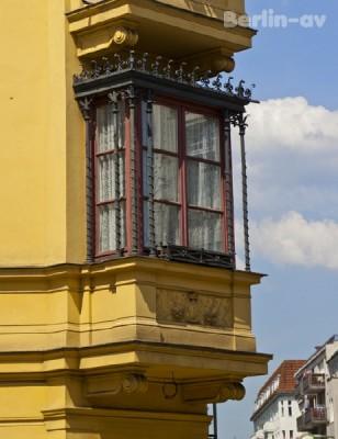 Detail eines Hauses in Alt-Charlottenburg