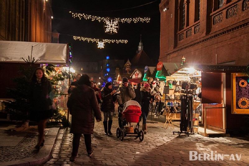 Weihnachtsmarkt in der Kulturbrauerei
