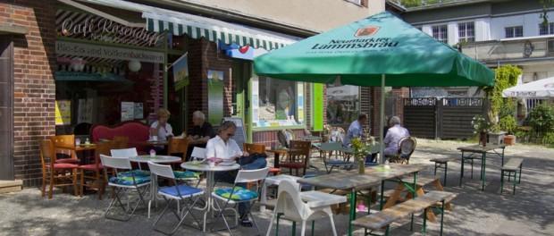 Das Berliner Cafe Rosenduft in Lichterfelde