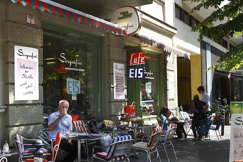 Cafe Sorgenfrei in BerlinSchöneberg