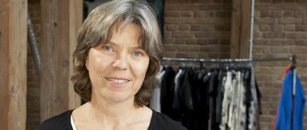 Die Berliner Modedesignerin Evelin Brandt