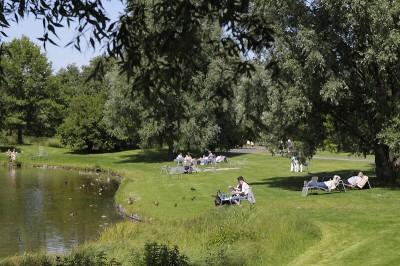 Erholung pur im Britzer Garten in Berlin