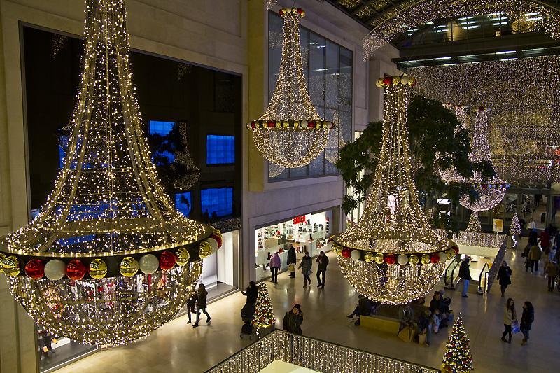 """Weihnachtsbeleuchtung im Steglitzer """"Boulevard Berlin"""""""