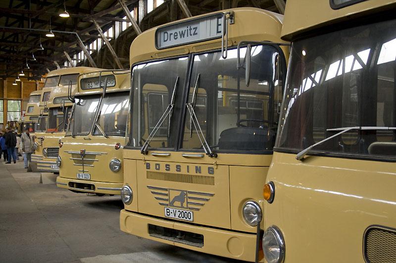 Berliner Busse aus den sechziger und siebziger Jahren