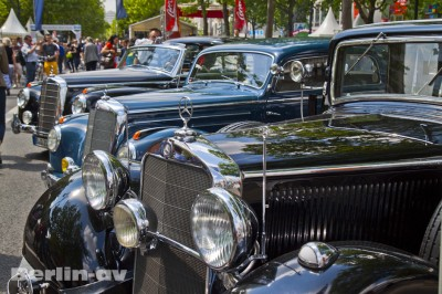 Classic Car Days auf dem Kurfürstendamm