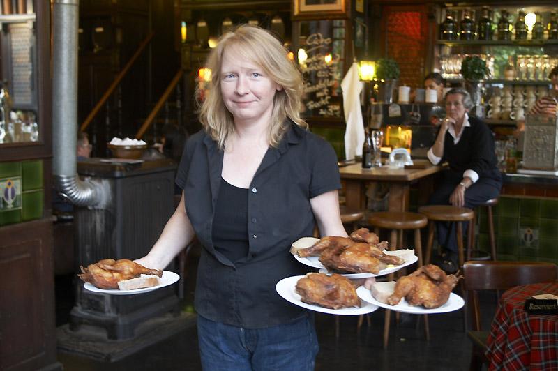 """Claudia Leistner, Chefin des Restaurants """"Henne"""""""