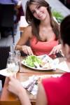Sommer im Restaurant