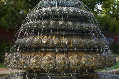 Indischer Brunnen in Kreuzberg