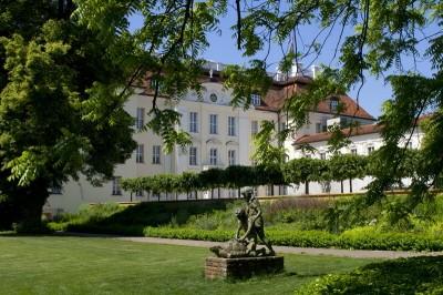Alt Köpenick - Das Schloss von der Parkseite gesehen