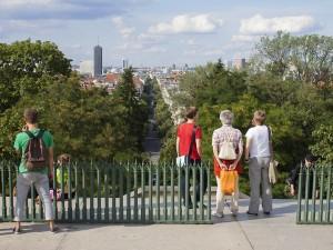 Blick vom Berliner Kreuzberg