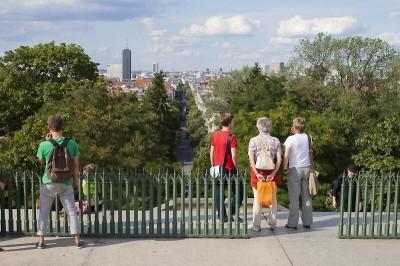 Blick vom Berliner Kreuzberg - Berlin von oben