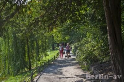 Familienausflug am Lietzensee