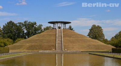 Das Lilienthal-Denkmal in Berlin