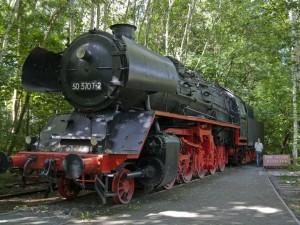Dampflok im Naturpark Südgelände
