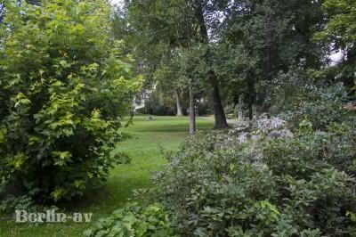 Park an der Villa Oppenheim