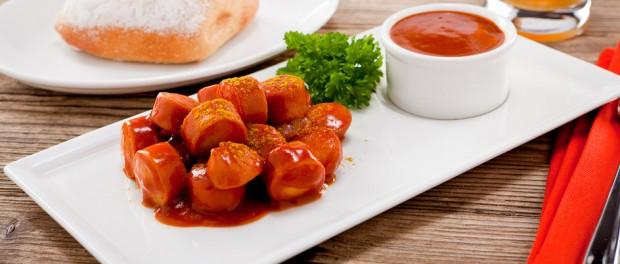 Berliner Spezialität ist die Currywurst.