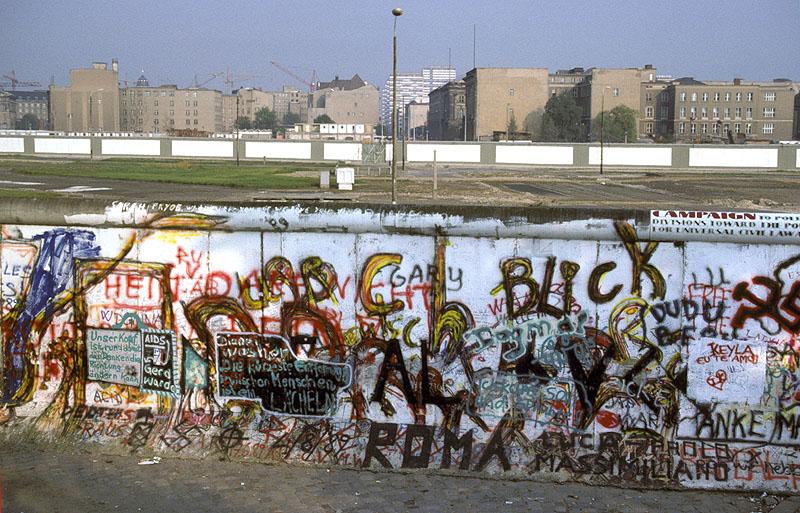 Der Potsdamer Platz Anfang der achtziger Jahre