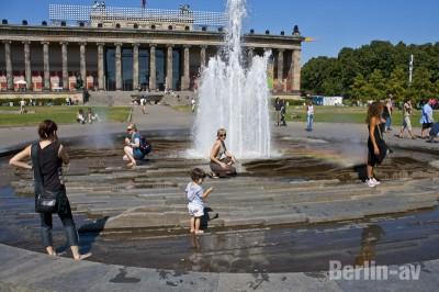 berliner Brunnen - Brunnen im Berliner Lustgarten