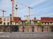 Der Bau des Humboldt Forums wächst