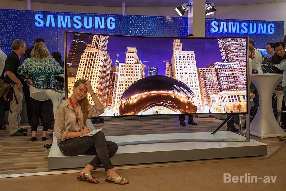 Der Samsung UHD TV S9