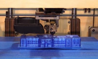 3D-Drucker bei der Arbeit. Von 3YOURMIND  - IFA 2014