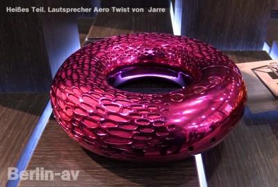 """Lautsprecher """"Aero Twist"""" von Jarre  ca. 300 Euro"""