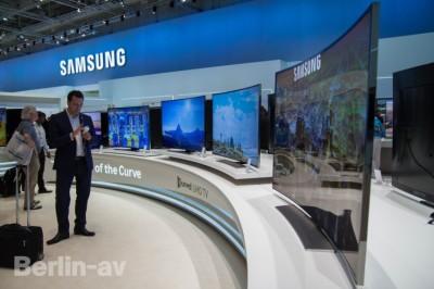 Curved TV von Samsung - IFA 2014