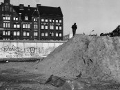 Die Mauer in Kreuzberg, Nähe Mariannenplatz