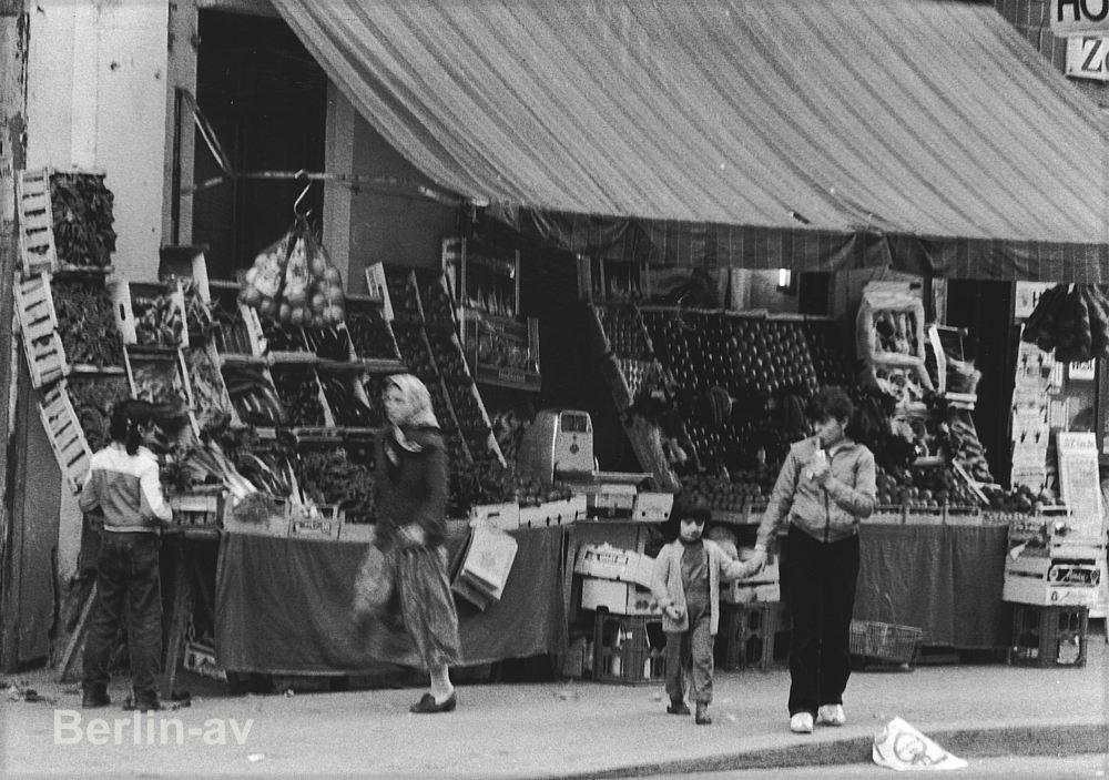 Straßenfotografie im Kreuzberg der 70er Jahre
