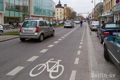 Berlin hat ein umfangreiches Radwegenetz
