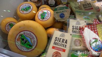 Käse aus Lettland auf der Grünen Woche in Berlin 2015