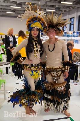Dieses Paar vertritt Peru auf der ITB 2015