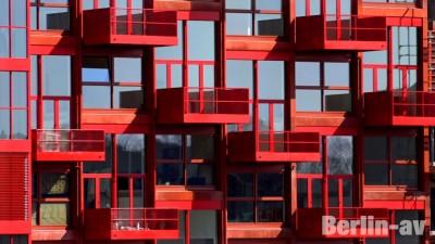 Wohnkomplex an der Monumentenstrasse - Neue Architektur