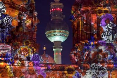 Der Berliner Dom beim Festival of Lights Berlin 2010