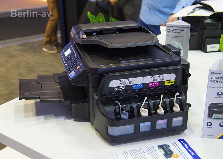 Nachfülltinte für zehn Euro gibt es für die neuen Epson-Drucker