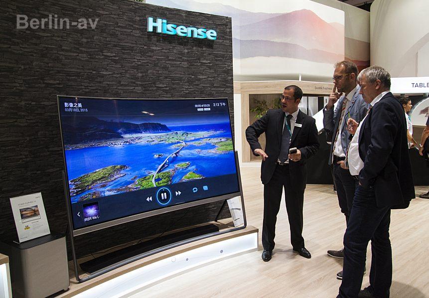 Hammertyp mit gutem Preis-Leistungsverhältnis: 78 Zoll-UHD-Curved TV von Hisense