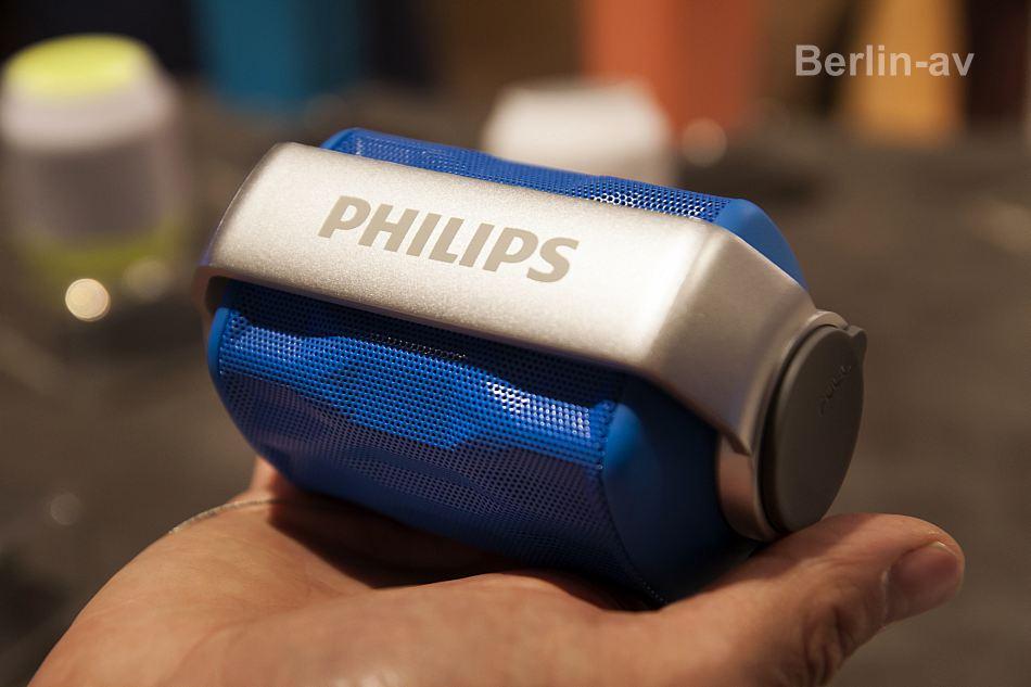 Lustige Minilautsprecher von Philips