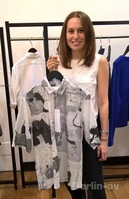 Premium Young Designers Award S/S 2017 Menswear - Verena Schepperheyn mit einem ihrer Lieblingsstücke