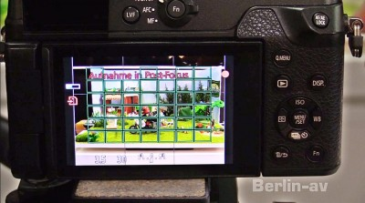 Panasonic-Kamera DMC GX8 mit Post focus-Möglichkeit