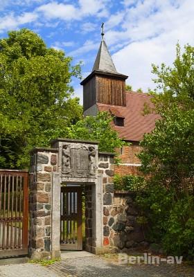 Die alte Dahlemer Dorfkirche St. Annen