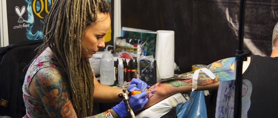 Karina Cuba, Tattooartist aus Russland