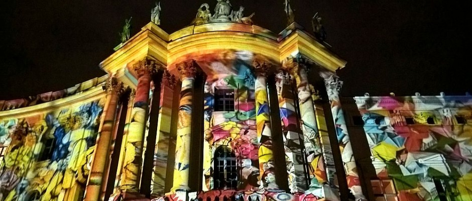 Festival of Lights Berlin 2016 - Bebelplatz