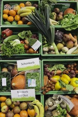 Gemüse aus dem Umland. Produkte aus Brodowin auf der VeggieWorld in Berlin