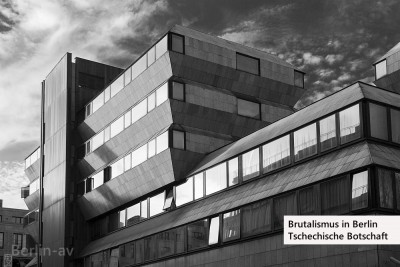Brutalismus in Berlin - Ehemalige Tschechische Botschaft