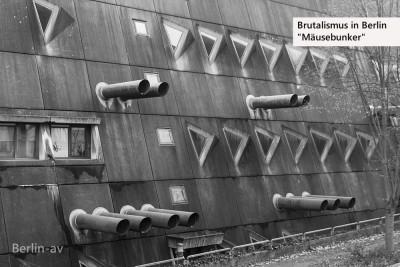 Brutalismus in Berlin - Zentrales Tierversuchslabor der FU