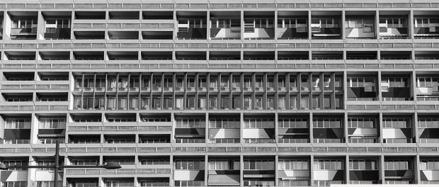 Brutalismus in Berlin - Das Corbusierhaus